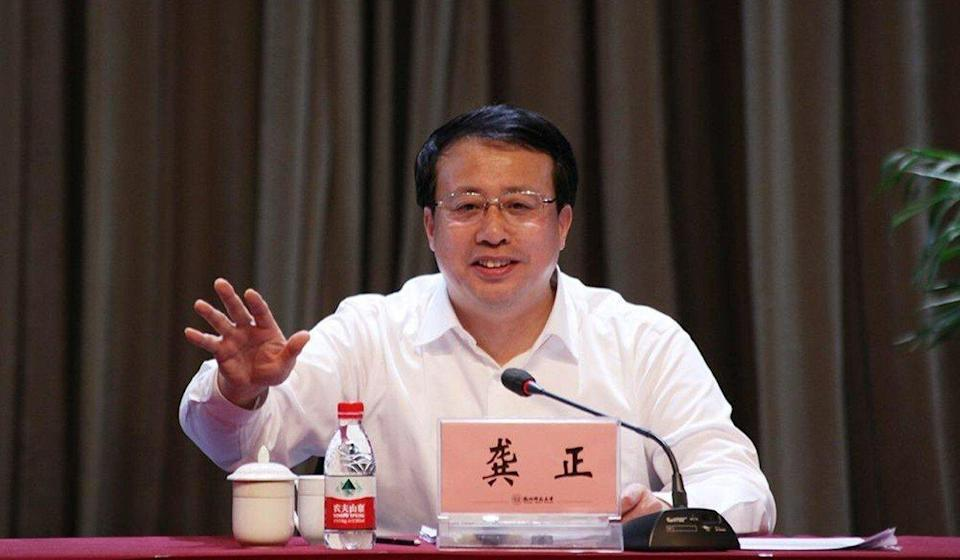 Shanghai Mayor Gong Zheng remains the top choice for global investors looking to secure a foothold in the mainland. Photo: Weibo