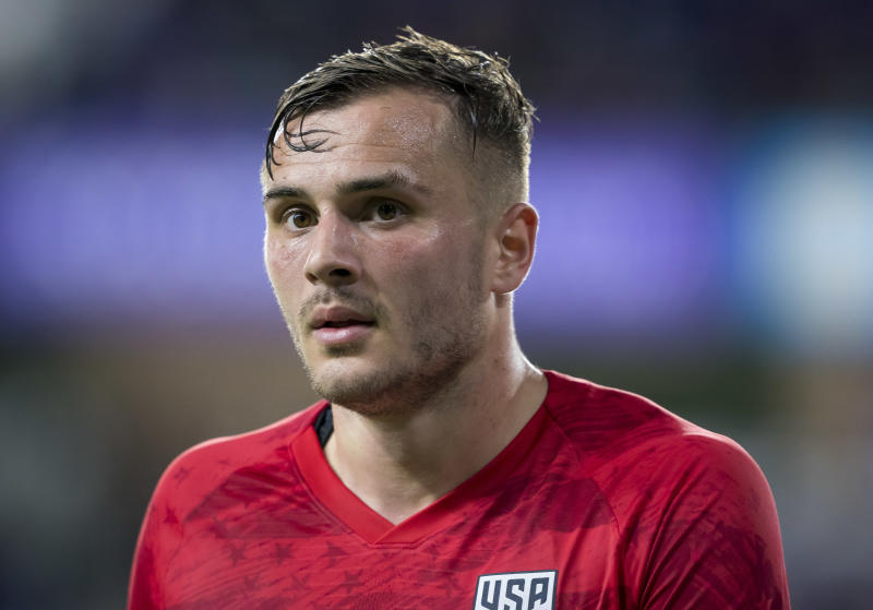 Jordan Morris was influential yet again against Canada on Friday in Orlando. (Photo by Andrew Bershaw/Icon Sportswire via Getty Images)