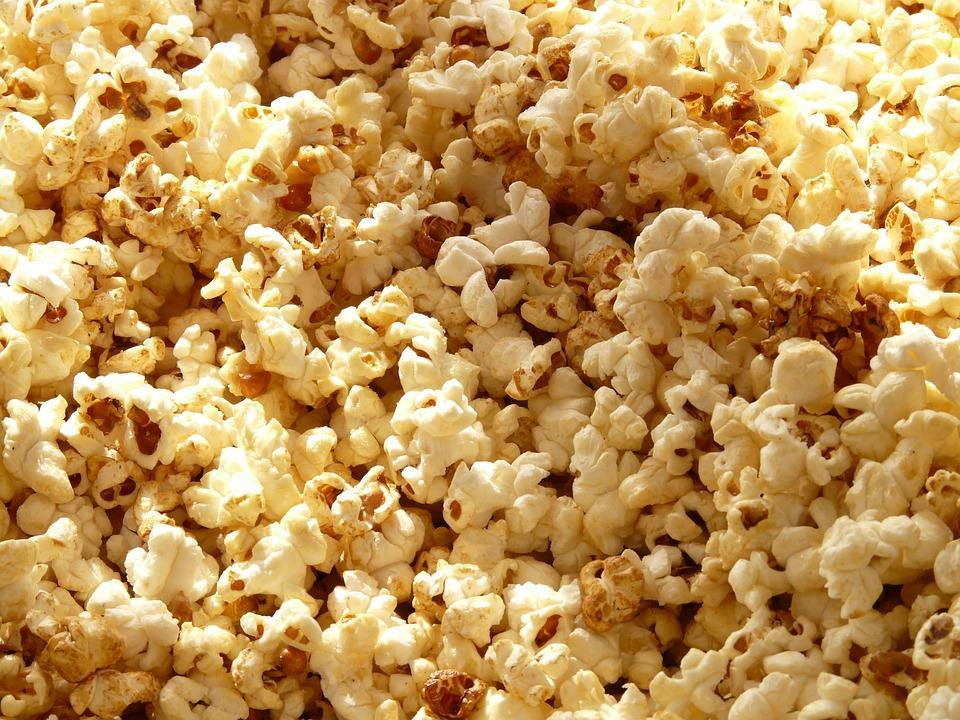 <p>Yes, you read that right. Popcorn is a healthy snack to munch on! It is low in calories and high in fibre which makes it a great snack. This is air popped, plain popcorn of course and not multi flavoured or overly buttered popcorn. That's back to the unhealthy wagon. It's super easy to make and can be very filling as well. Movie time ready anyone!? </p>