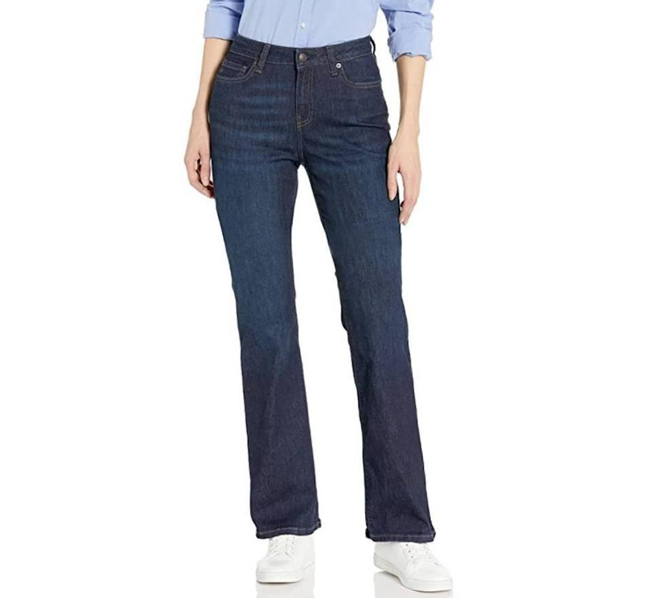 Amazon Essentials Women's Boot Cut Jeans (Photo: Amazon)