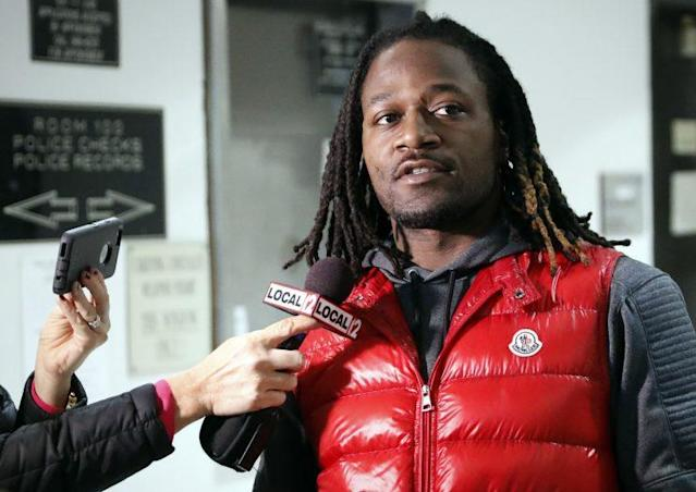 A felony charge against Bengals CB Adam Jones was dropped. (AP)