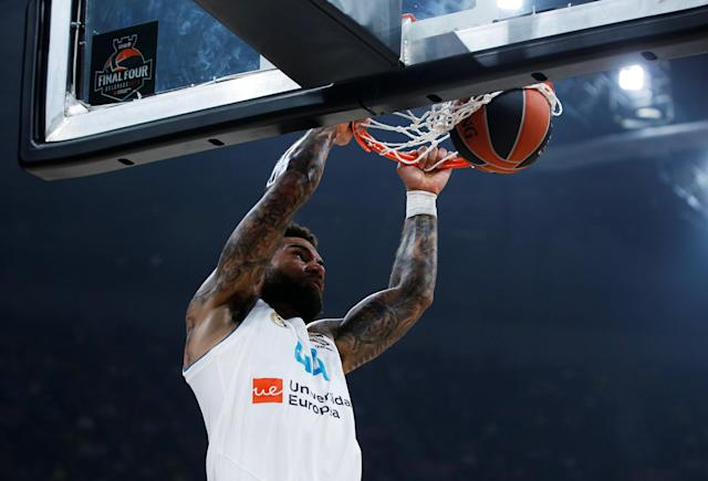 Basketball - Euroleague Final Four Final - Real Madrid vs Fenerbahce Dogus Istanbul - Stark Arena, Belgrade, Serbia - May 20, 2018 Real Madrid's Jeffery Taylor in action REUTERS/Alkis Konstantinidis