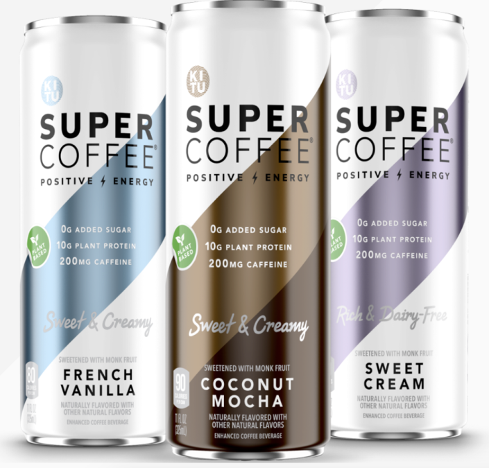"""<p><strong>12 Pack</strong></p><p>drinksupercoffee.com</p><p><strong>$35.69</strong></p><p><a href=""""https://go.redirectingat.com?id=74968X1596630&url=https%3A%2F%2Fdrinksupercoffee.com%2Fproducts%2Fcoffee%2Fsuper-coffee-plant-based-variety-pack%2F&sref=https%3A%2F%2Fwww.womenshealthmag.com%2Flife%2Fg32268112%2Fgifts-for-father-in-law%2F"""" rel=""""nofollow noopener"""" target=""""_blank"""" data-ylk=""""slk:Shop Now"""" class=""""link rapid-noclick-resp"""">Shop Now</a></p><p>Got a dad who needs their caffeine fix regularly but is sacrificing taste for health? This delicious plant-based coffee is made with superfoods and is totally carb and sugar-free (but it tastes so good, he wouldn't even know it).</p>"""