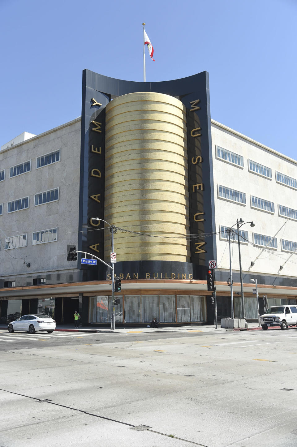 Academy Museum Of Motion Pictures on Tuesday, Sept. 21, 2021, in Los Angeles. (Photo by Richard Shotwell/Invision/AP)