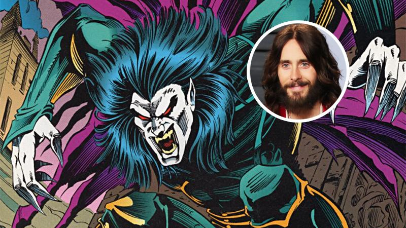 Jared Leto will play a vampire in a new Spider-Man spin-off