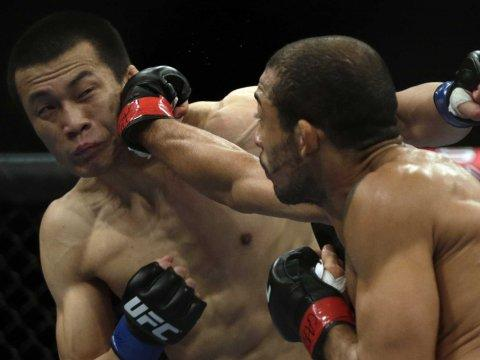 ufc korean zombie chan sung jung martial arts