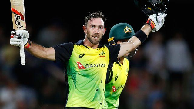 Maxwell made the most of his reprieve. Image: Getty