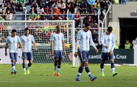 Football Soccer - Bolivia v Argentina - World Cup 2018 Qualifiers