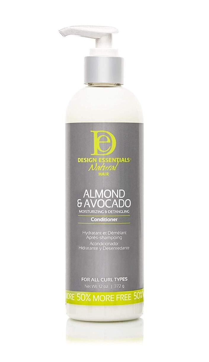 """<h3>Design Essentials Almond & Avocado Moisturizing & Super Detangling Conditioner</h3><br><strong>Maya</strong><br><br>""""These products are great for curly hair! The bottles last forever, and they're amazing for adding moisture as well as detangling with ease. Not to mention, they smell incredible!""""<br><br><strong>Design Essentials</strong> Almond & Avocado Moisturizing & Super Conditioner, $, available at <a href=""""https://amzn.to/2ZOHPUg"""" rel=""""nofollow noopener"""" target=""""_blank"""" data-ylk=""""slk:Amazon"""" class=""""link rapid-noclick-resp"""">Amazon</a>"""