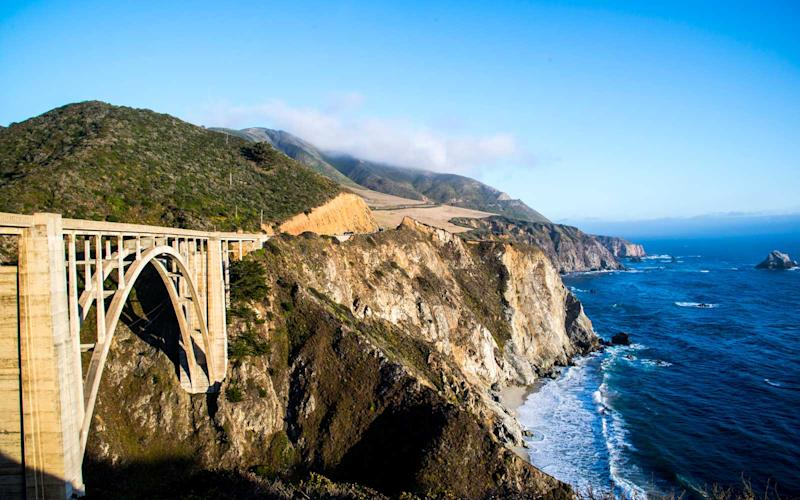 Beginning in Orange County's Dana Point and reaching north to San Francisco, this popular drive can be completed in under eight hours. But why keep it short? With many major stops — from sprawling Los Angeles to Carmel-by-the-Sea — you could make this road trip last for days. Driving from the south to the north, head to the top of the Topanga Overlook in Malibu for incredible views of the San Fernando Valley. Then, a few hours north in Santa Ynez Wine Country, relax with a glass of vino as you plot your visit to Hearst Castle. | Getty Images