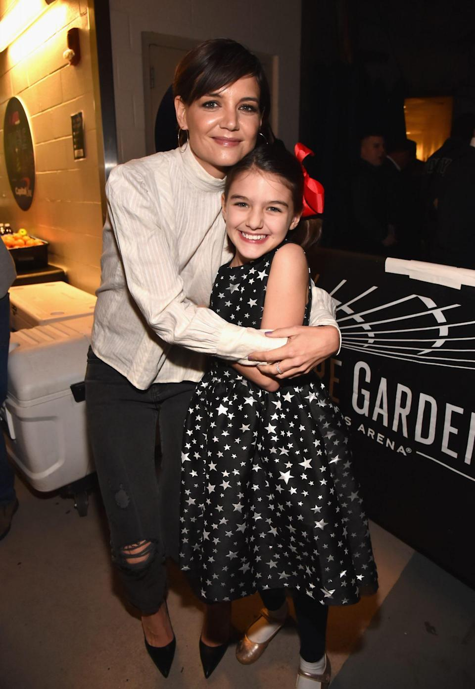 """<p>Holmes wrote about <a href=""""https://people.com/parents/katie-holmes-quarantine-daughter-suri-cruise/"""" rel=""""nofollow noopener"""" target=""""_blank"""" data-ylk=""""slk:how she's spent lockdown"""" class=""""link rapid-noclick-resp"""">how she's spent lockdown</a> with daughter <a href=""""https://people.com/tag/suri-cruise/"""" rel=""""nofollow noopener"""" target=""""_blank"""" data-ylk=""""slk:Suri Cruise"""" class=""""link rapid-noclick-resp"""">Suri Cruise</a> in an essay for <a href=""""https://www.vogue.com.au/culture/features/katie-holmes-writes-for-vogue-about-hope-positivity-and-embracing-the-simple-joys-in-life/image-gallery/8f1ffa29a59c8905b9e0ade0540b73bf"""" rel=""""nofollow noopener"""" target=""""_blank"""" data-ylk=""""slk:Vogue Australia's November issue"""" class=""""link rapid-noclick-resp""""><em>Vogue</em> Australia's November issue</a> - and how appreciative she has been for their quality time.</p> <p>""""Hobbies such as sewing, painting and writing became new hallmarks of satisfaction and having had time at home to just be. To listen,"""" she wrote. """"To live for a moment in time without the pressure of results and instead appreciate the natural rhythms of mother and daughter was the most precious gift.""""</p> <p>The <em>Dawson's Creek</em> alum recalled how, during isolation, she reinforced her mantra to be more present in her daily life.</p> <p>""""During this time of uncertainty, remembering to be creative and positive has been something I have tried to keep at the forefront of my mind,"""" Holmes wrote. """"Throughout this experience the through-line for me has been a heightened awareness of each moment and really taking it in and appreciating it.""""</p>"""