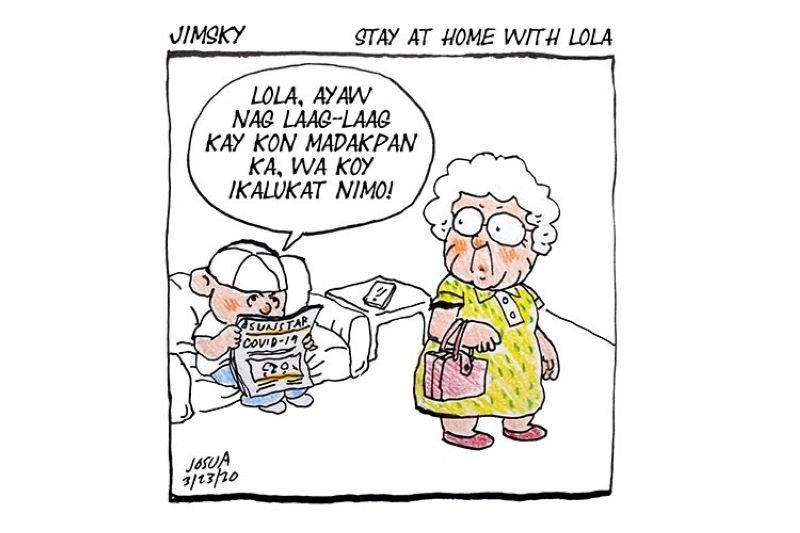 Jimsky: Stay at home with lola