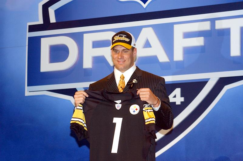 Was Ben Roethlisberger's selection in the 2004 NFL draft the Steelers' best pick of the past 20 years? (Photo by Tom Berg/Getty Images)