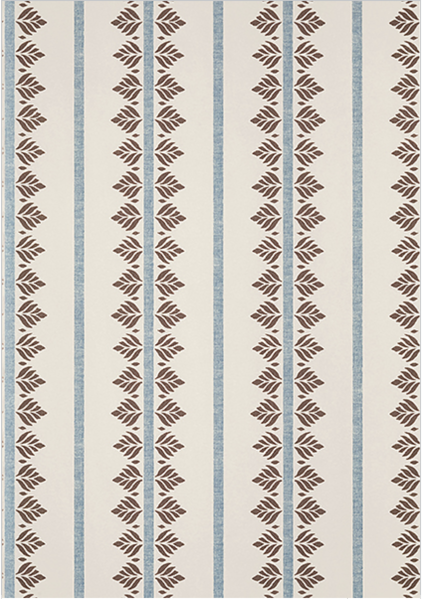 """<p><a class=""""link rapid-noclick-resp"""" href=""""https://www.thibautdesign.com/AF/catalog/product/details/product/fern_stripe_at15106/material/wallpaper/colorway/brown_and_slate_APU/"""" rel=""""nofollow noopener"""" target=""""_blank"""" data-ylk=""""slk:Shop Now"""">Shop Now</a></p><p>You can never go wrong with a stripe, and <a href=""""https://www.thibautdesign.com/"""" rel=""""nofollow noopener"""" target=""""_blank"""" data-ylk=""""slk:Thibaut's"""" class=""""link rapid-noclick-resp"""">Thibaut's</a> brand new Fern Stripe pattern bridges both traditional and more contemporary interiors.</p>"""