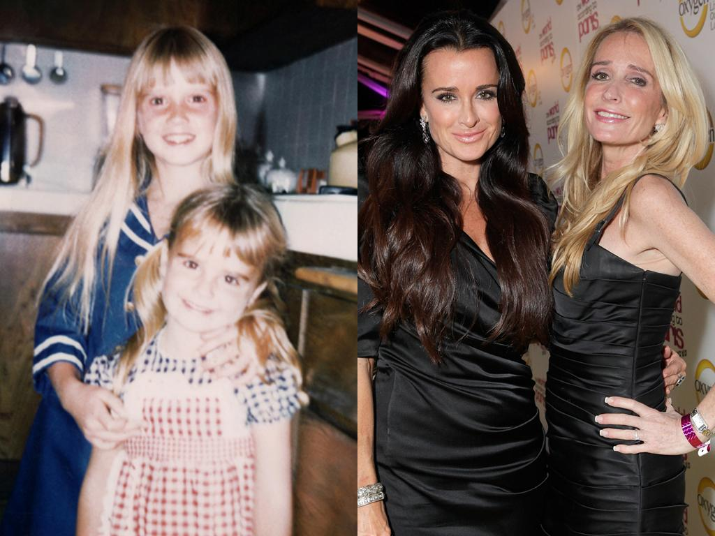 """<b>Kim and Kyle Richards (Beverly Hills)</b><br><br>Decades before they were stirring up drama as Beverly Hills housewives, Kim and Kyle Richards were famous for being child stars. Older sister Kim (the blonde) was one of the most recognizable young faces in the '70s, thanks to big roles in """"Escape From Witch Mountain"""" and """"Nanny and the Professor."""" And soon after, younger sibling Kyle followed suit with parts on """"Little House on the Prairie"""" and the horror flick """"Halloween."""" Although the two sisters have had their fair share of tearful fights over the show's two seasons, they still share a tight bond.<br><br><a target=""""_blank"""" href=""""http://www.bravotv.com/the-real-housewives-of-beverly-hills/season-1/photos/photo-diaries/before-they-were-housewives-kyle"""">More Photos of Kyle</a>"""