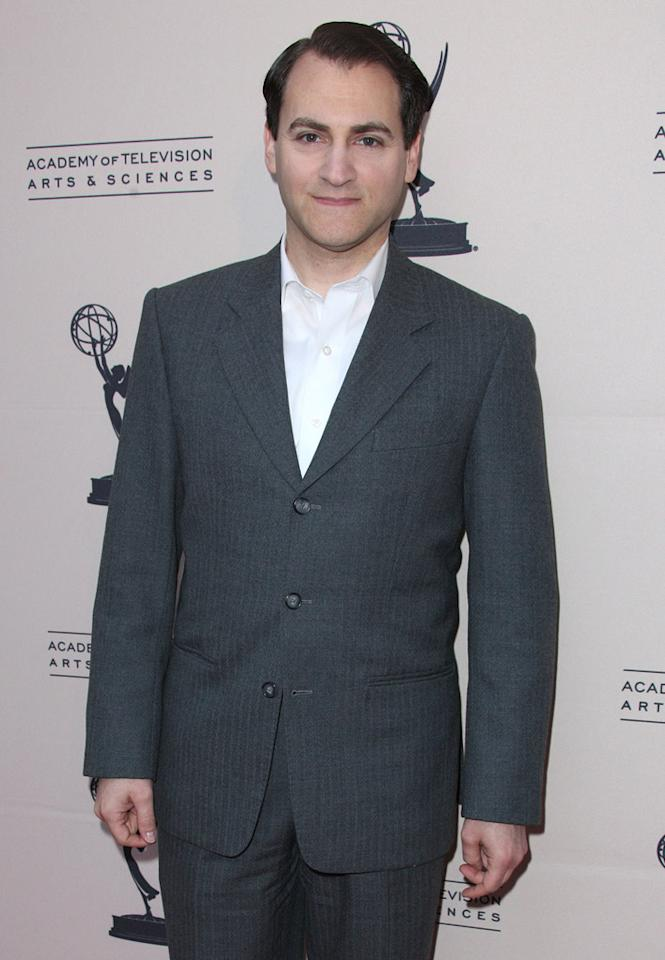 "Michael Stuhlbarg arrives at The Academy of Television Arts & Sciences Presents An Evening With ""<a href=""http://tv.yahoo.com/boardwalk-empire/show/41428"">Boardwalk Empire</a>"" event at Leonard H. Goldenson Theatre on April 26, 2012 in North Hollywood, California."