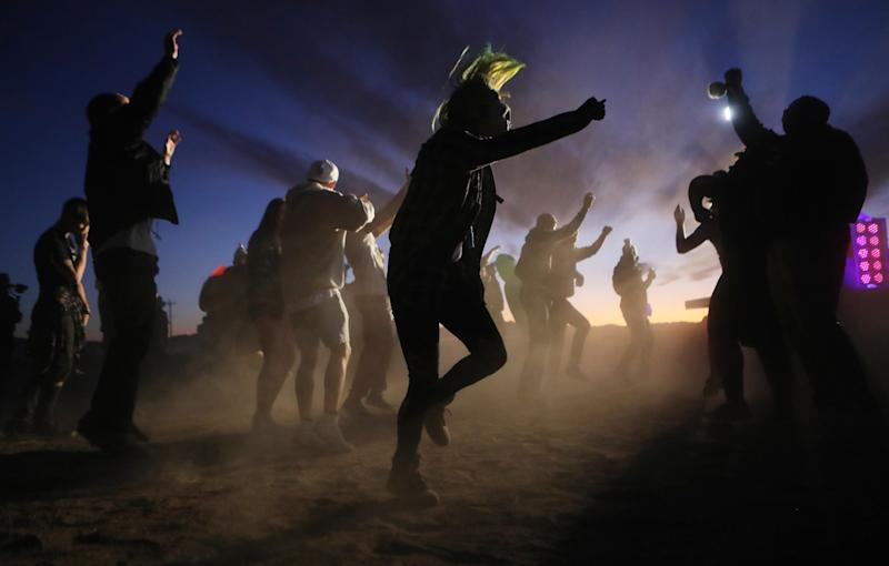 Hundreds gathered in Nevada desert to 'see them aliens': Getty Images