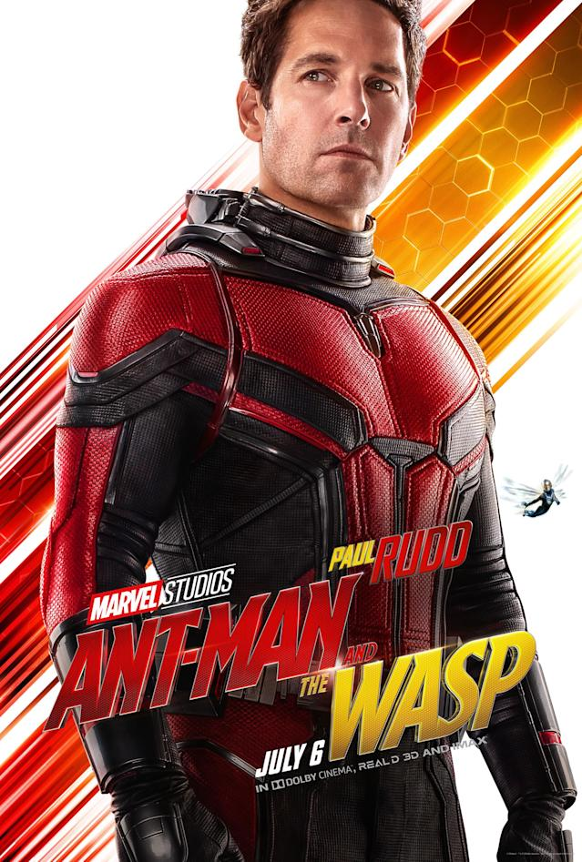 Paul Rudd in <i>Ant-Man and the Wasp</i>. (Image: Marvel)