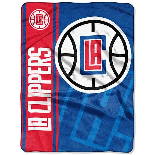 Clippers Oversized Throw Blanket