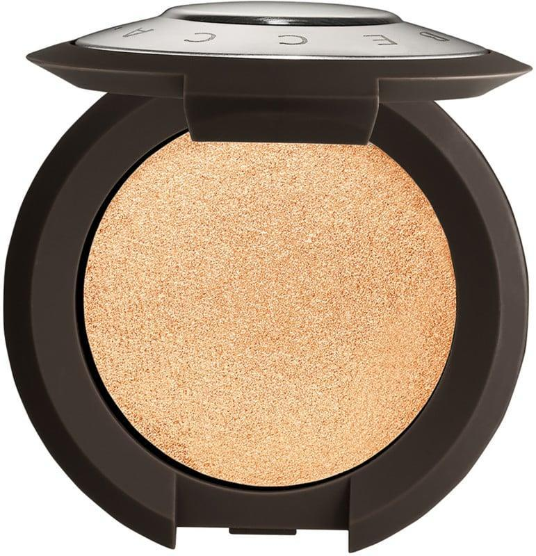 <p>Truth be told, we only need a small amount of highlight, so the <span>BECCA Cosmetics Shimmering Skin Perfector Pressed Highlighter Mini </span> ($22) will last a while.</p>