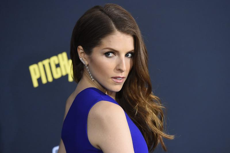 Funny side: Actress Anna Kendrick had a hilarious reaction to the mistake: Jason Merritt/Getty Images