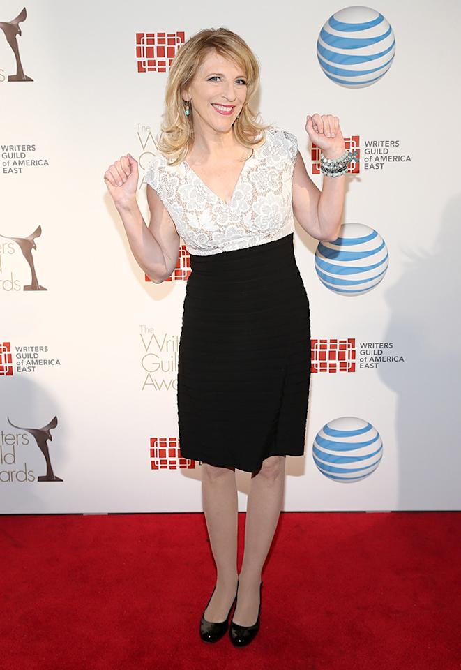 Lisa Lampanelli attends the 65th annual Writers Guild East Coast Awards at B.B. King Blues Club & Grill on February 17, 2013 in New York City.  (Photo by Neilson Barnard/Getty Images)