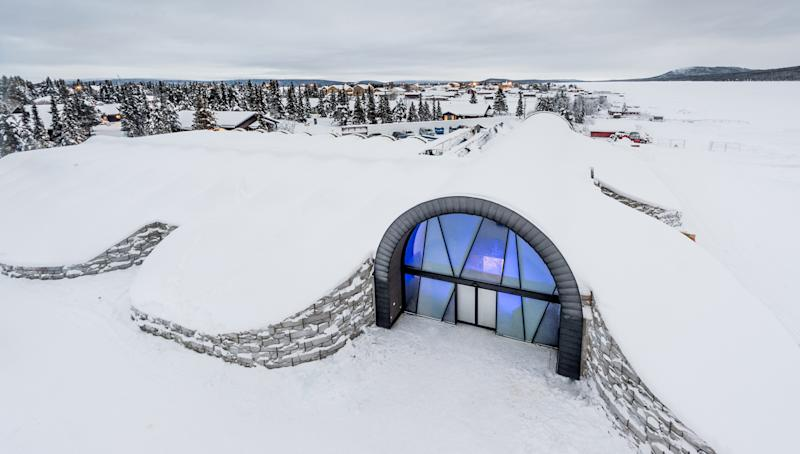 Every winter since 1989, Sweden's Icehotel has been carved into existence, sculpted from frozen masses harvested from the adjacent Torne River. And every spring, the hotel melts, trickling back into the river from whence it came. This year, however, the frosty retreat in the village of Jukkasjärvi will stay cool long after the winter temperatures rise, thanks to the debut of the first-ever Icehotel 365.
