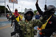 Duque announced Friday he was deploying military troops to the city of Cali