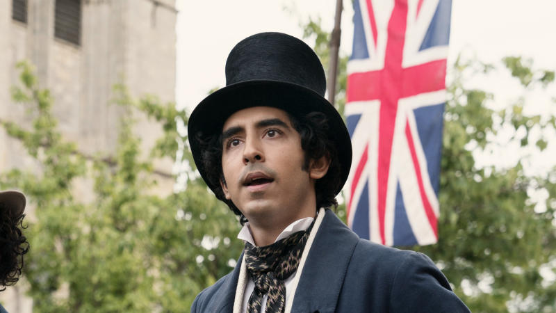 Dev Patel in 'The Personal History of David Copperfield'. (Credit: Lionsgate)