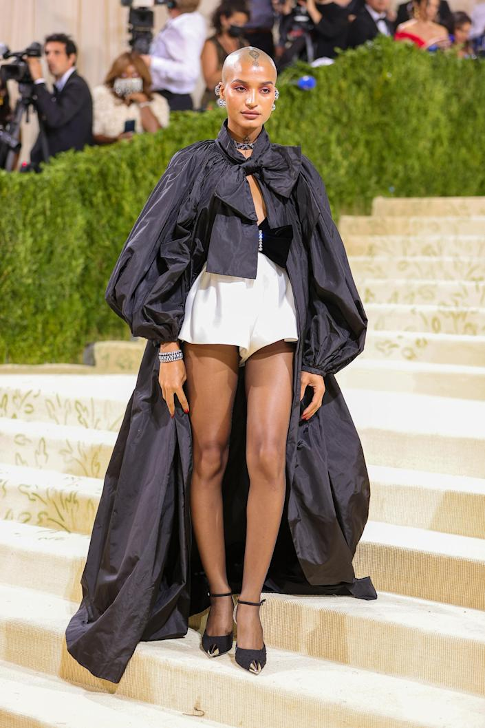"""<h1 class=""""title"""">Indya Moore in Saint Laurent</h1><cite class=""""credit"""">Photo: Getty Images</cite>"""