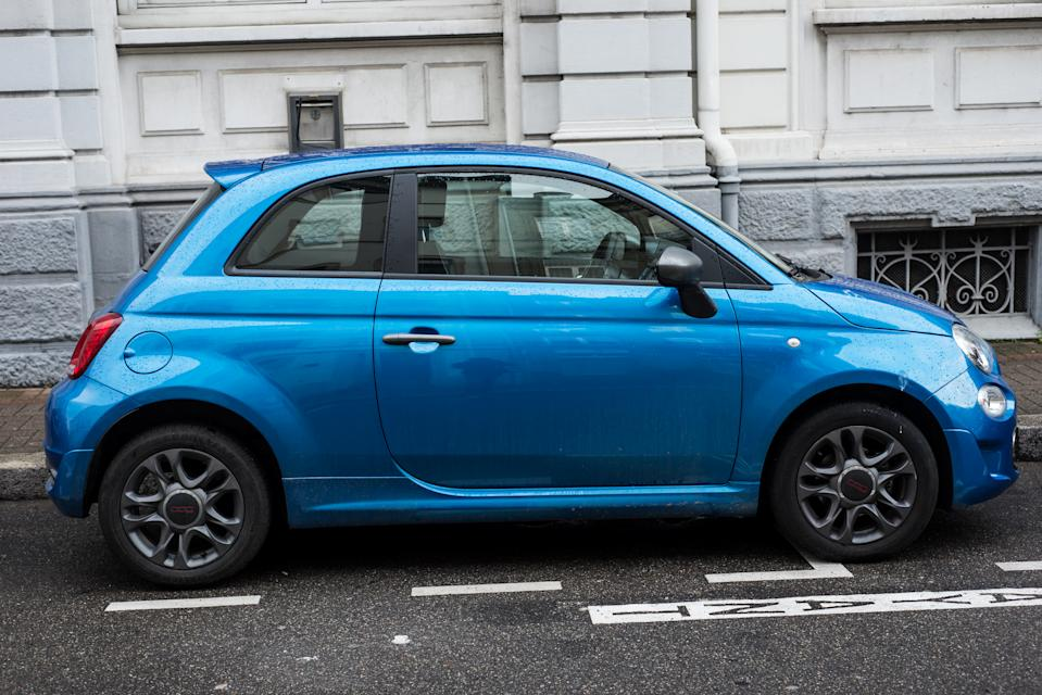 'Iconic city car,' the Fiat 500, moved up from ninth to sixth place, according to the analysis. Photo: Getty