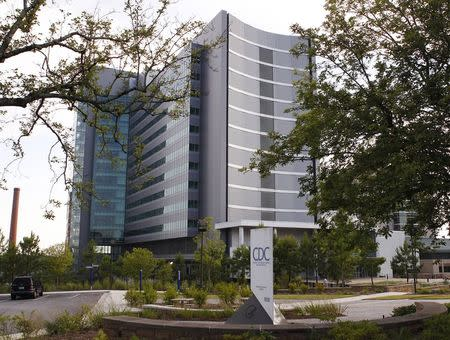 Centers for Disease Control Biotechnology Core Facility (Building 23) is shown in Atlanta