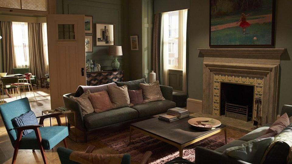 The apartment in The Father