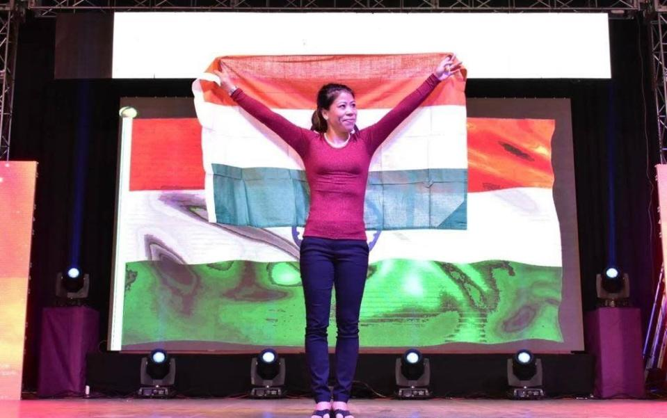 <p>Indian Olympic boxer from the North eastern state of Manipur is also the first woman to win World Amateur Boxing champion six times, and the only woman to have bagged a medal in all the seven world championships. India's first woman boxer to win a Gold Medal in the Asian Games and at the 2018 Commonwealth Games, Mary Kom is a youth icon with one of the longest list of accolades, including the Arjuna Award, the Padma Shree, and the Rajiv Gandhi Khel Ratna award to her name. </p>