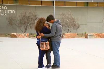 The family was reunited after more than 30 hours (NBC 7)