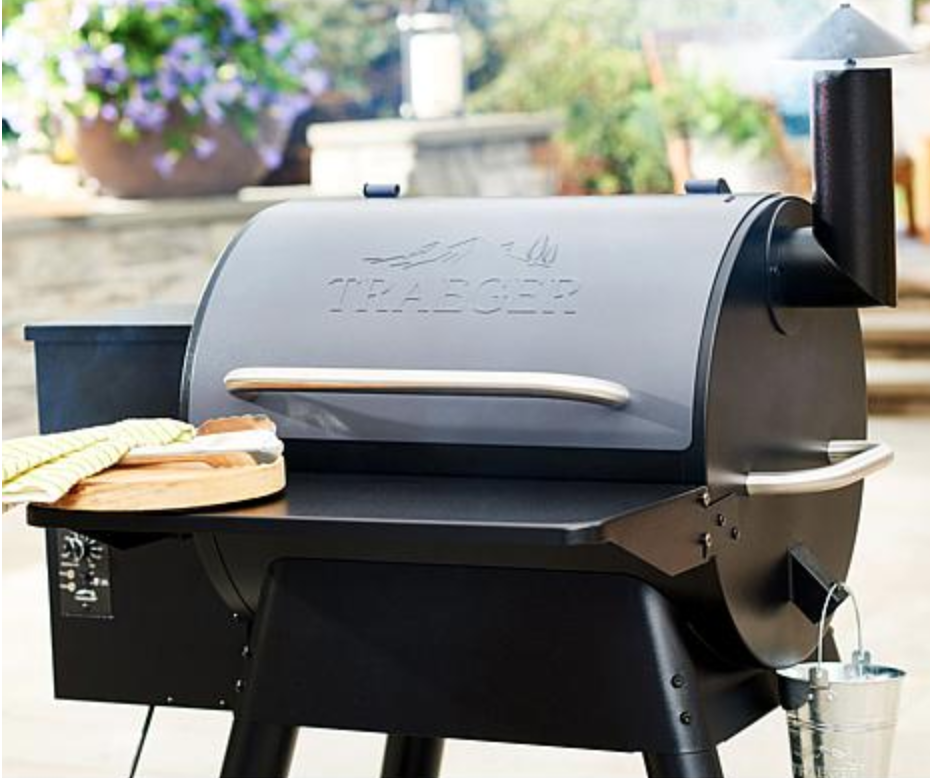 No charcoal, no propane, no problem: This baby burns pellets for incredible savory flavor. (Photo: HSN)