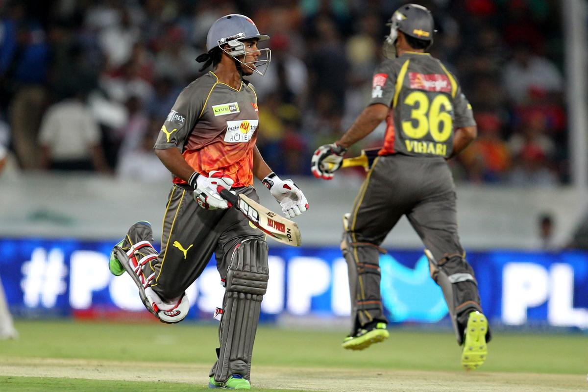 Akshath Reddy takes a run during match 25 of the Pepsi Indian Premier League between The Sunrisers Hyderabad and The Kings XI Punjab held at the Rajiv Gandhi International  Stadium, Hyderabad  on the 19th April 2013Photo by Prashant Bhoot-IPL-SPORTZPICS Use of this image is subject to the terms and conditions as outlined by the BCCI. These terms can be found by following this link:https://ec.yimg.com/ec?url=http%3a%2f%2fwww.sportzpics.co.za%2fimage%2fI0000SoRagM2cIEc&t=1498652426&sig=nRHAxYTEbd0Ge5wY0ZE.Dw--~C