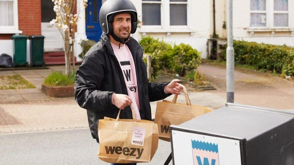 Weezy delivery man