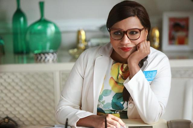 Mindy Kaling as Mindy Lahiri in <em>The Mindy Project </em>(Photo: Hulu)