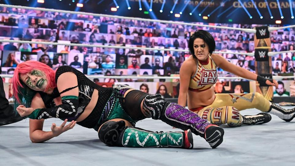 Asuka was in action twice on the nightWWE