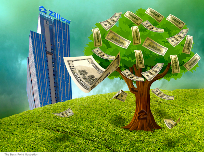 How Zillow Makes Money Tree The Basis Point
