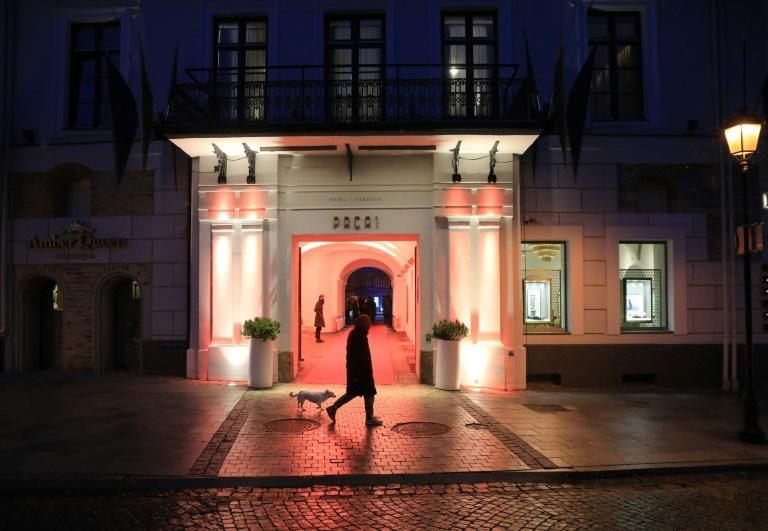 Cinemas in Lithuania have been shut since November so hotels are rolling out the red carpet for the film festival