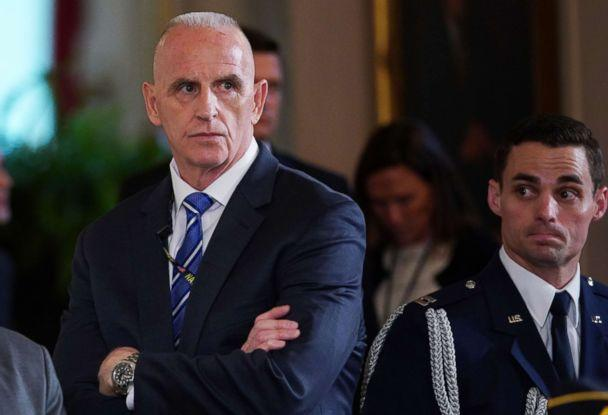 PHOTO: Director of Oval Office operations Keith Schiller attends the signing ceremony for the Department of Veterans Affairs Accountability and Whistleblower Protection Act of 2017, June 23, 2017. (Mandel Ngan/AFP/Getty Images, FILE)