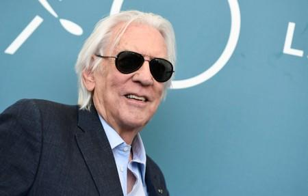 A Minute With: Donald Sutherland on working hard and chilling with Jagger