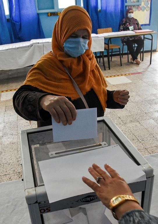 Turnout was slow in the capital Algiers but was expected to be higher in rural areas