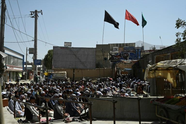 Afghanistan's Hazara community makes up the bulk of the country's Shiite minority, and it is feared the Taliban -- hardliners from the Sunni branch of Islam -- may again turn on them, just as they did during their last regime in the 1990s (AFP/Aamir QURESHI)