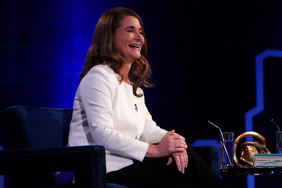 American philanthropist and a former general manager at Microsoft. In 2000, she co-founded the Bill & Melinda Gates Foundation with her husband Bill Gates, the world's largest private charitable organization. Gates has consistently been ranked as one of the world's most powerful women by Forbes.
