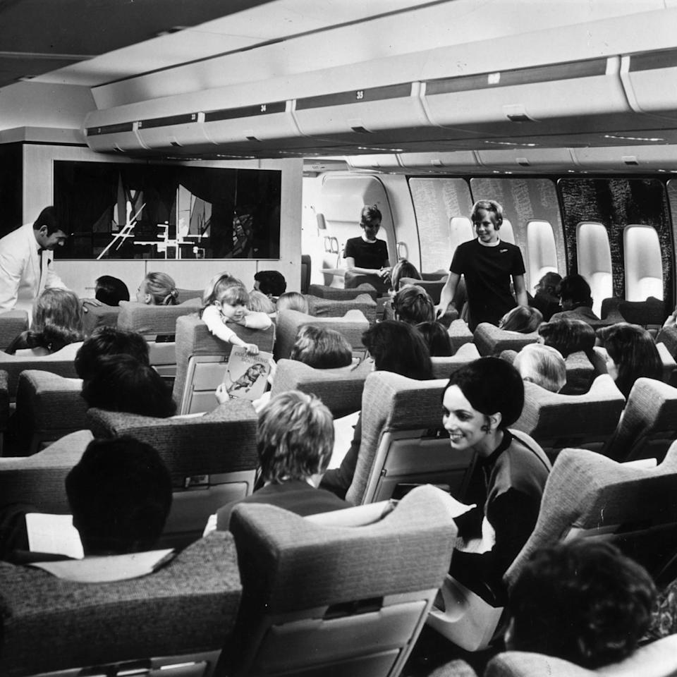 A 747 in the Seventies - Getty
