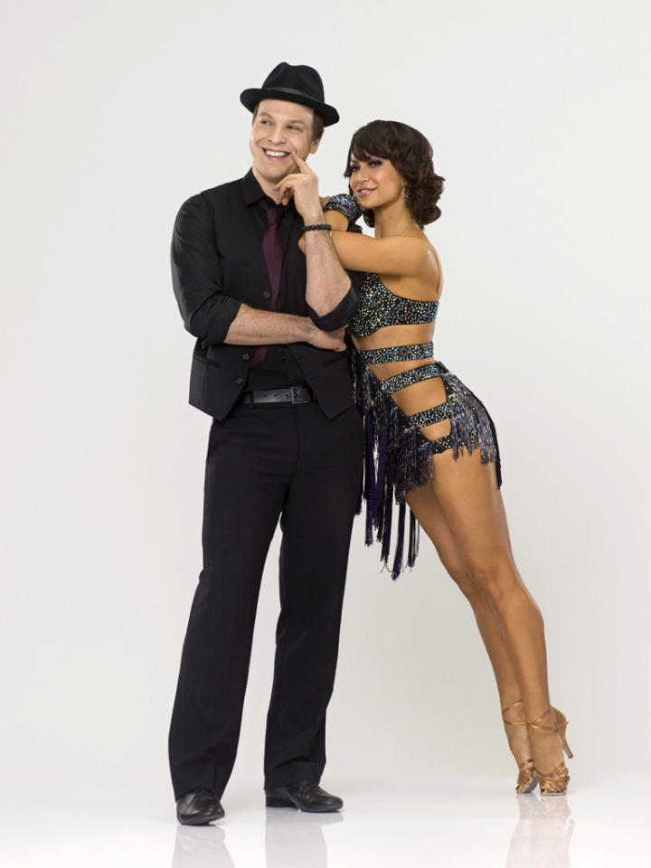 "Gavin DeGraw teams with professional dancer Karina Smirnoff on Season 14 of ""<a href=""http://tv.yahoo.com/dancing-with-the-stars/show/38356"">Dancing With the Stars</a>."""