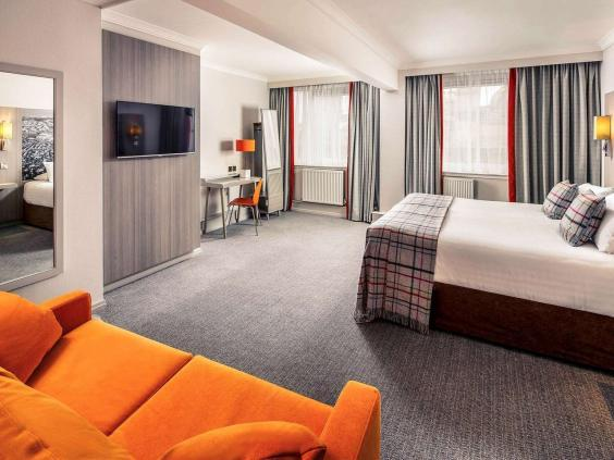 Mercure Inverness has zesty-coloured features (Mercure)